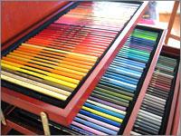 誕生日プレゼント 多色の色鉛筆やクレヨン・クレパス