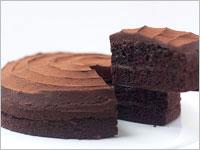 誕生日プレゼント チョコレートケーキ