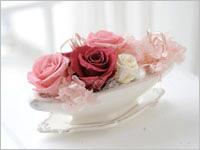 誕生日プレゼント バラのプリザーブドフラワー