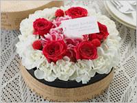 誕生日プレゼント フラワーケーキ