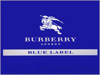 誕生日プレゼント BURBERRY BLUE LABE
